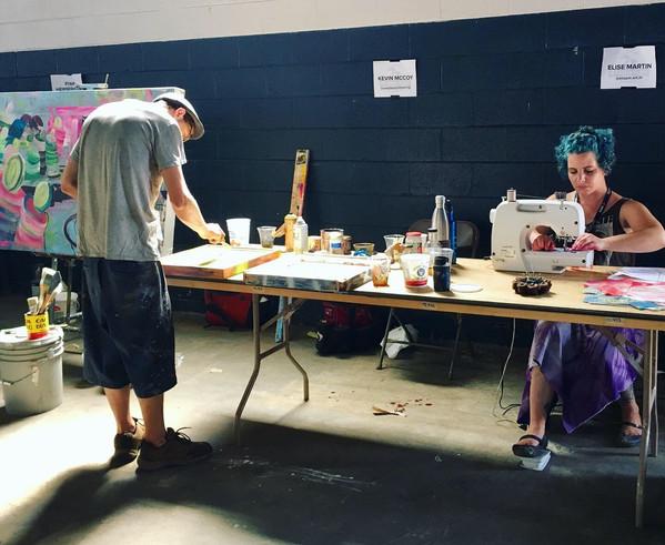 Michigan Glass Project, Live Art-Making Auction