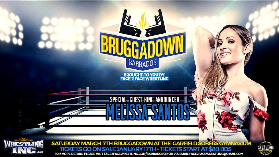 Melissa Santos - F2F Wrestling Bruggadow