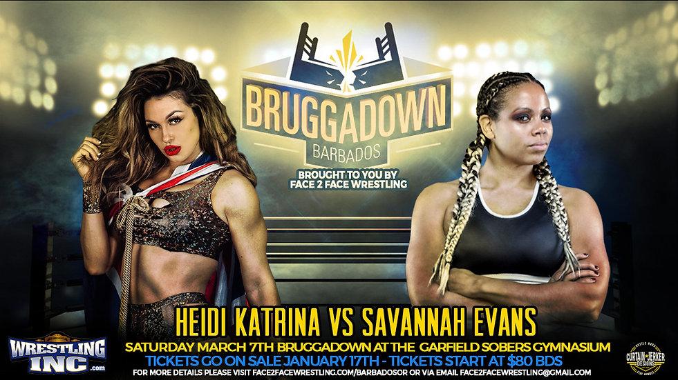 Heidi Katrina vs Savannah Evans   - F2F