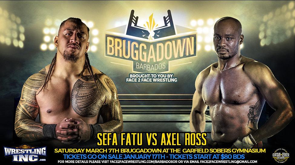 Sefa Fatu vs Axel Ross - F2F Wrestling B