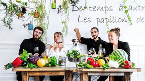 Restaurante vegano gana estrella Michelin por primera vez en Francia