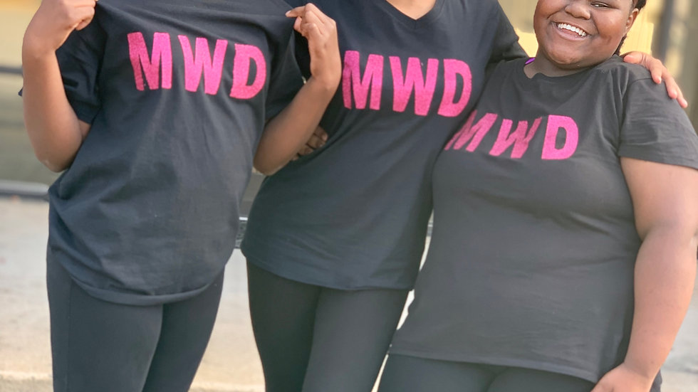 MWD Pink & Black T-shirt