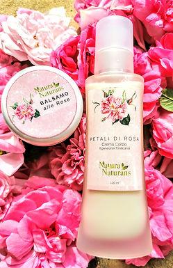 Crema Corpo Tonificante petali di rose ml100