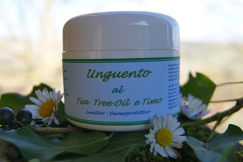 UNGUENTO AL TEA TREE OIL E TIMO