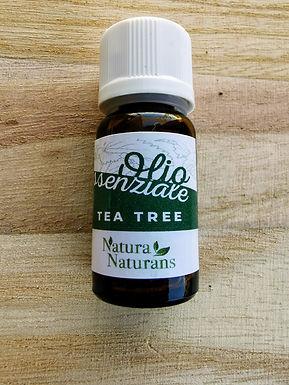 OLIO ESSENZIALE NATURALE  PURO DI TEA TREE ML 10