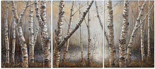 Tranquil Clearing - Triptych