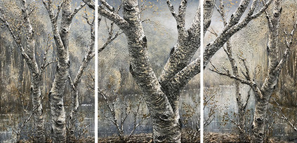 Early Spring - Triptych