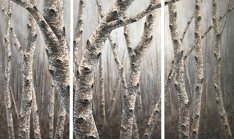 Winter Frost - Triptych