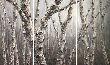 Winter Frost - Triptych