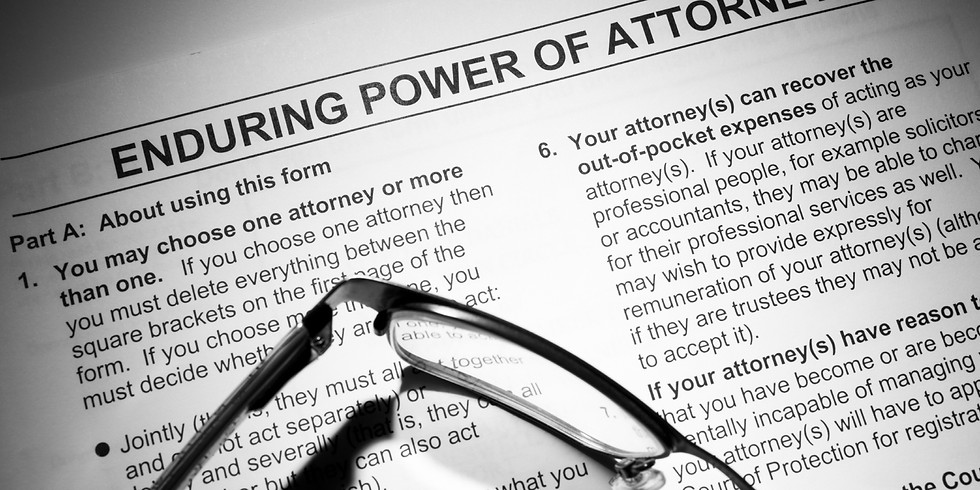 Personal Directives and Power of Attorney