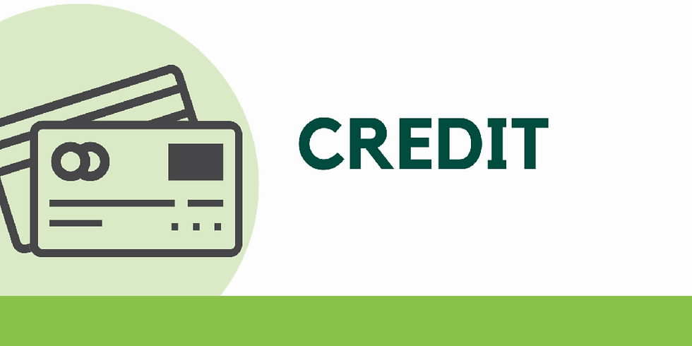 Credit - Gain Momentum with your Money Series