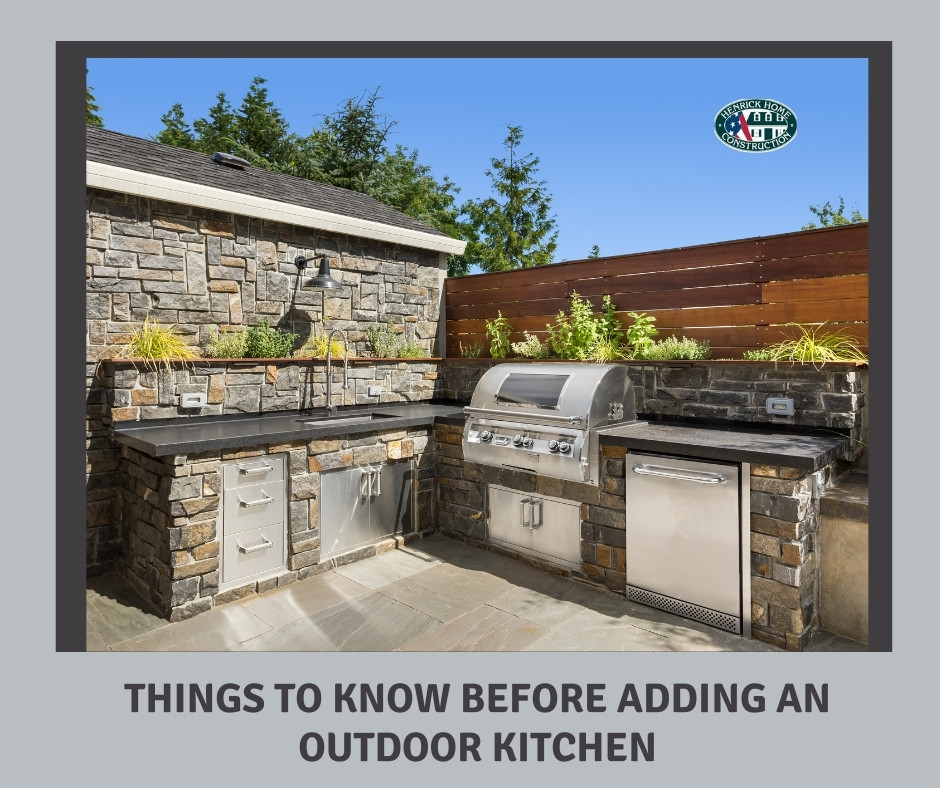 Things to Know Before Adding an Outdoor Kitchen