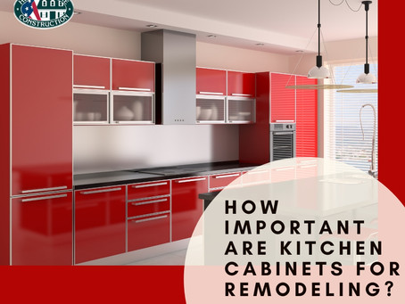 How Important are Kitchen Cabinets For Remodeling