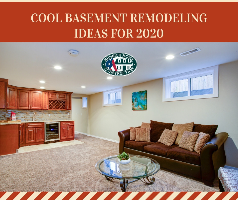 Cool basement remodeling ideas for 2020