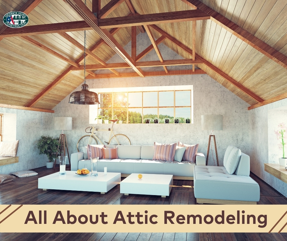 All About Attic Remodeling