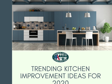 Trending kitchen improvement ideas for 2020