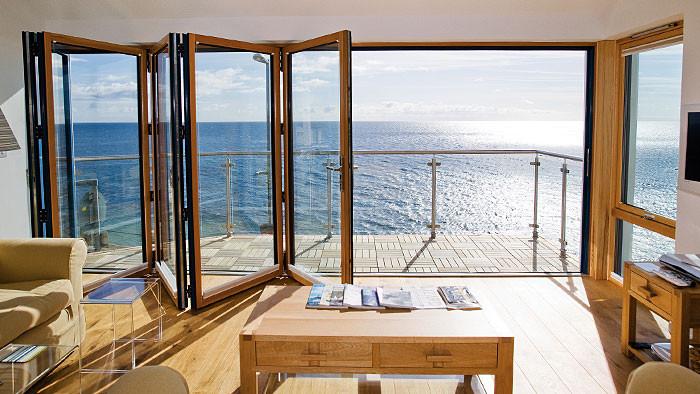 Bi-Fold Balcony