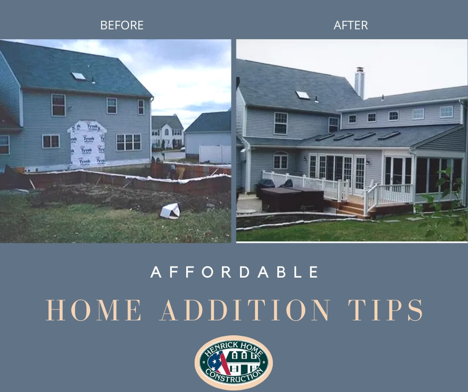 Affordable home addition tips