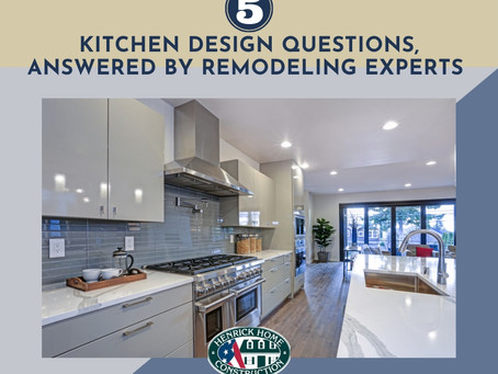 5 Kitchen Design Questions, Answered by Remodeling Experts