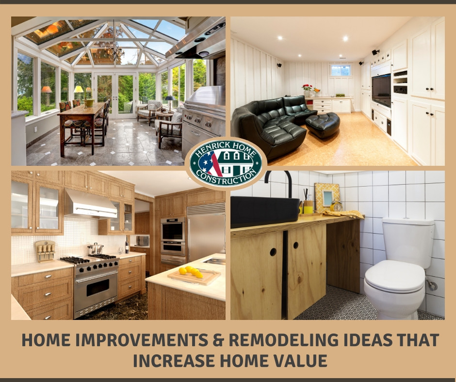 6 Home Improvement & Remodeling Ideas that Increase Home Value