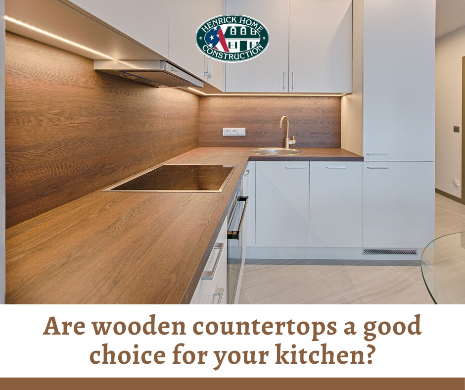 Are wooden countertops a good choice for your kitchen?