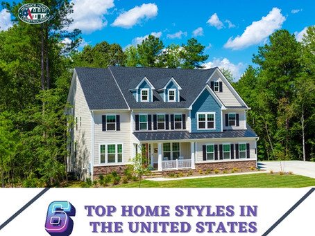 6 Top Home Styles in United States