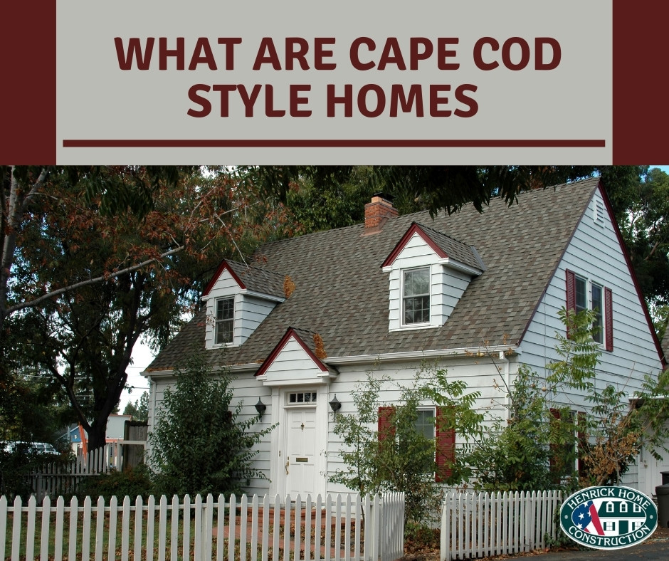 What are Cape Cod Homes