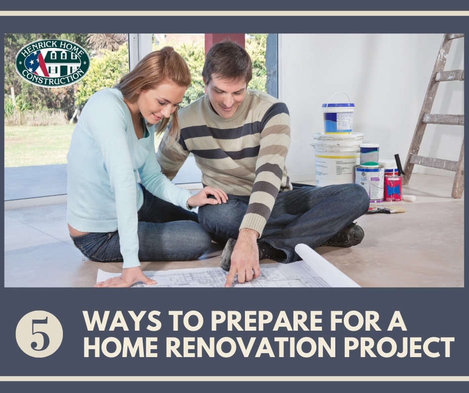 5 Ways to Prepare for Your Home Renovation Project