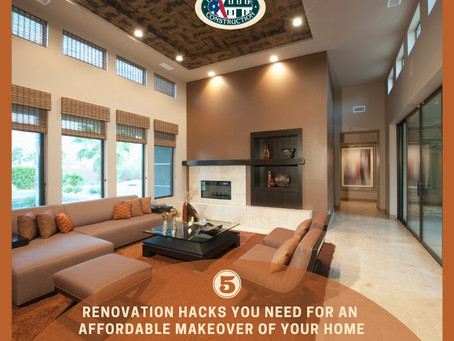 5 renovation hacks you need for an affordable makeover of your home