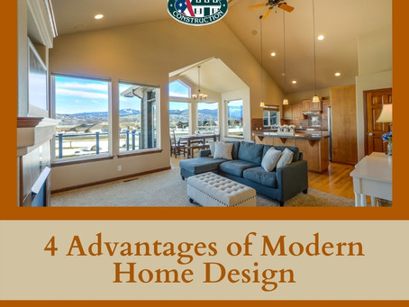 4 Advantages of Modern Home Design