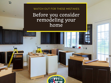 Considering remodeling? Watch out for these mistakes