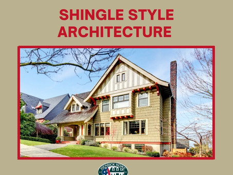 What is Shingle Style Architecture