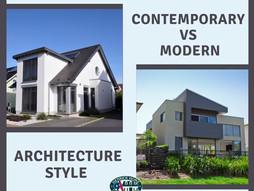 Contemporary Vs Modern Architecture Style