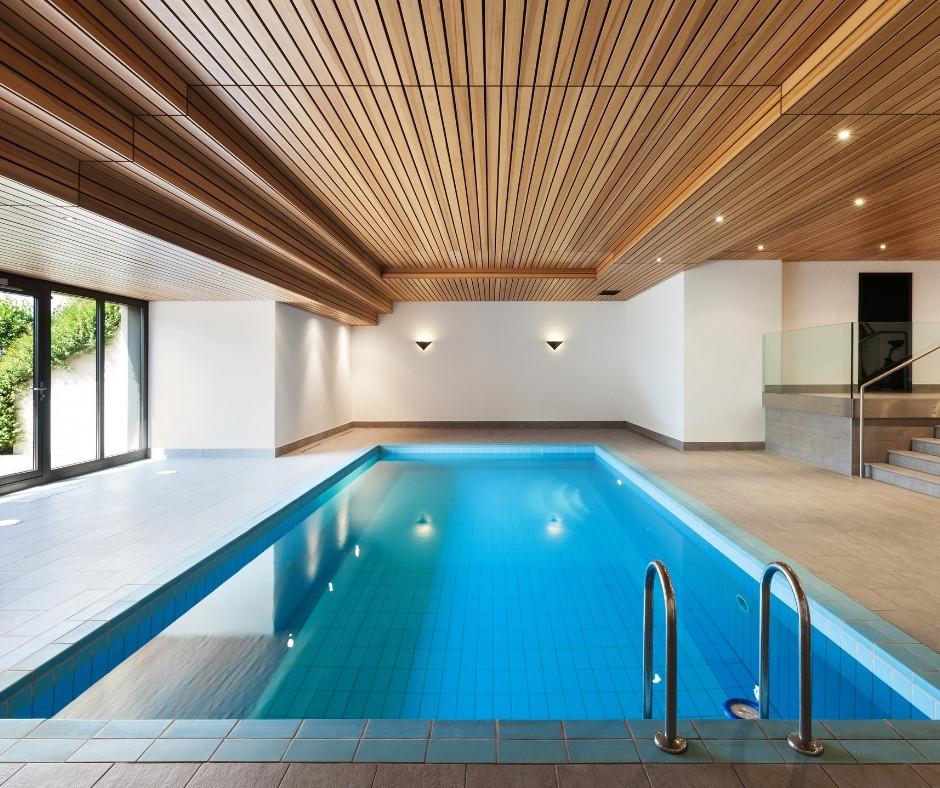 indoor swimming pool- henrick home