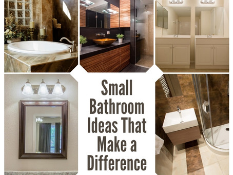 Small Bathroom Decor Ideas That Make A Difference