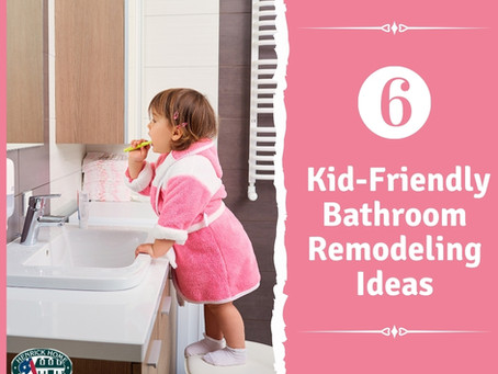 6 Kid-Friendly Bathroom Remodeling Ideas