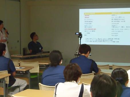 院内勉強会「適正透析、長時間透析について」を開催しました