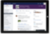 Yammer share and collaborate