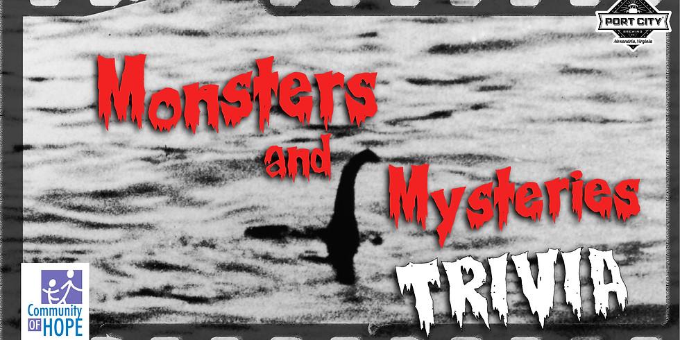Monsters & Mysteries Trivia