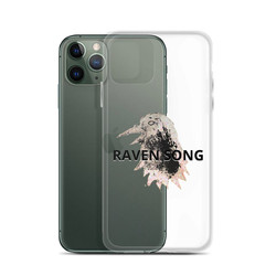 Raven Song iPhone Case