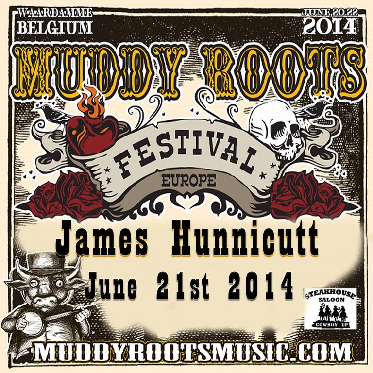 Live at Muddy Roots Europe 2014 CD