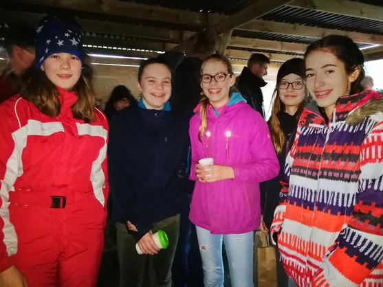 Silvi, Konstanze, Lili, Helen und Lena