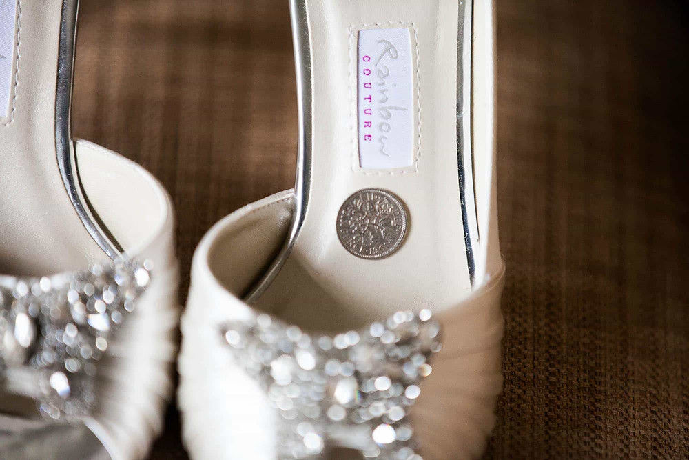 sixpence in brides shoe