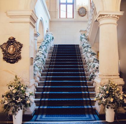 schody zamku w kliczkowie