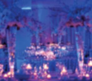 dekoracja swiatlem