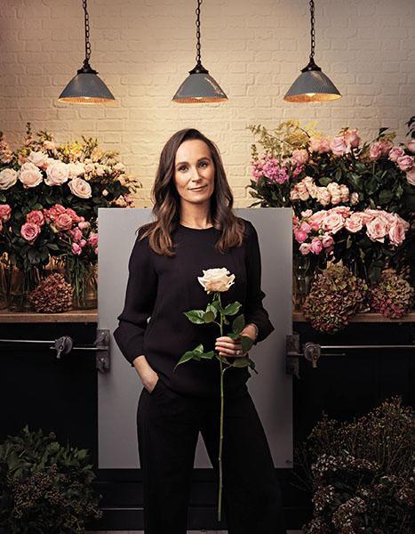 Philippa Craddock florystka Meghan i Harrego