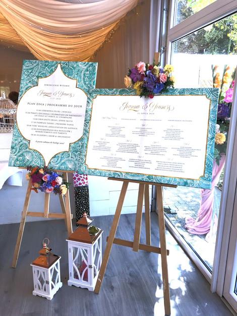 tablica gosci tablica powitalna wesele w