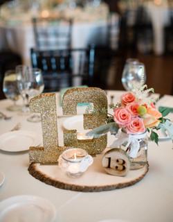 numerki stolu weselnego