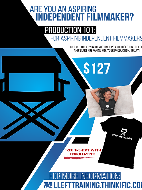 Production 101 Online Course with FREE T-Shirt