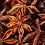Thumbnail: Badiane et quartz rose   broche
